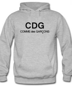 CDG Comme Des Garcons Hoodie large