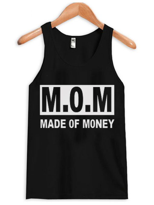 MOM Made Of Money Unisex Adult Tank top