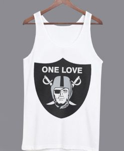 One Love Oakland Raiders Unisex Tank top
