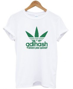 Adihash Rastafarian Gives You Speed T-shirt