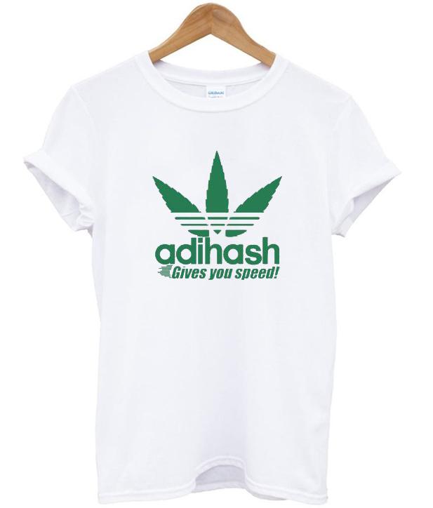 Adihash Rastafarian Gives You Speed T-shirt