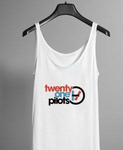 Twenty One Pilots Logo Circle Tank top