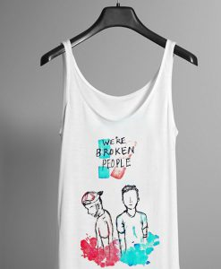 Twenty One Pilots We're Broken People Tank top