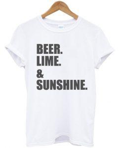 Beer Lime & Sunshine Unisex T-shirt