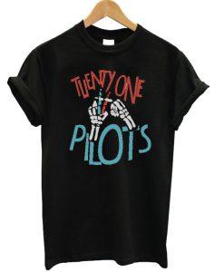 Twenty One Pilots Hands Skeleton T-shirt
