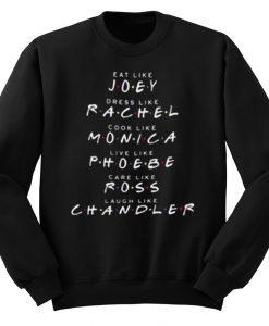 Friends TV Show Like Sweatshirt