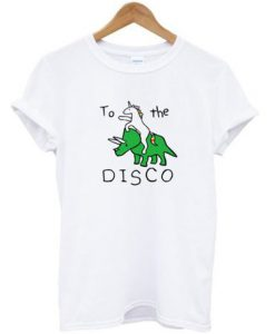 Unicorn & Dinosaur To The Disco T-shirt