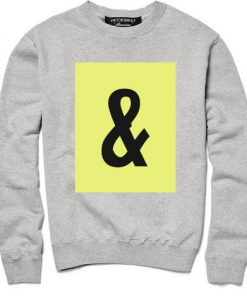 And Sweatshirt