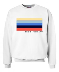 Biarritz - France 1990 Sweatshirt