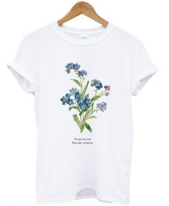 Forget Me Not Myosotis Sylvatica T-shirt
