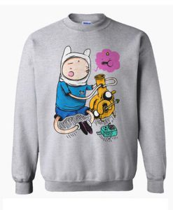 Adventure Time Bongs Sweatshirt