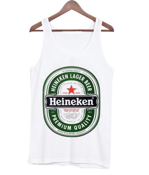 Heineken Beer Tank top