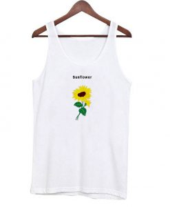 Sunflower Tank Top Unisex
