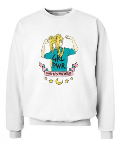 Sailormoon Girl Power Sweatshirt
