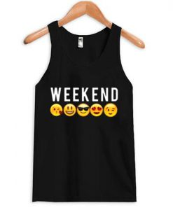 Weekend Emoji Tank Top