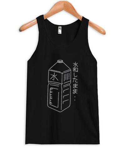 Japanese Water Bottle Tank top
