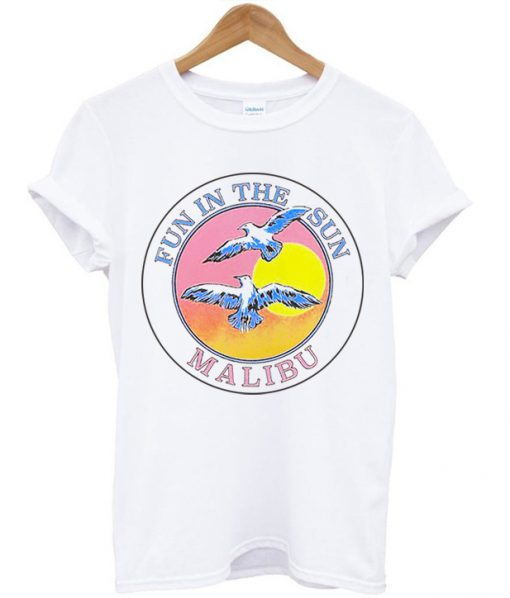 Fun In The Sun Malibu T-shirt