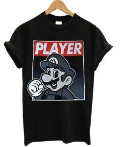 Super Mario Player Unisex Adult T-shirt