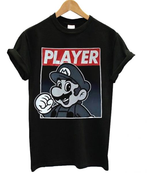 Super Mario Player Unisex Adult T-shirt