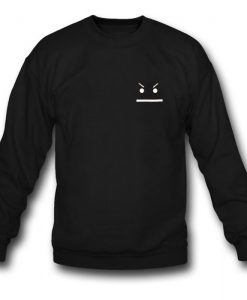 Angry Smiley Sweatshirt