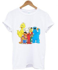 Sesame Street Big Bird Ernie Elmo Bert Cookie Monster T-shirt
