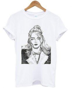 Billie Eilish Sketch T-shirt