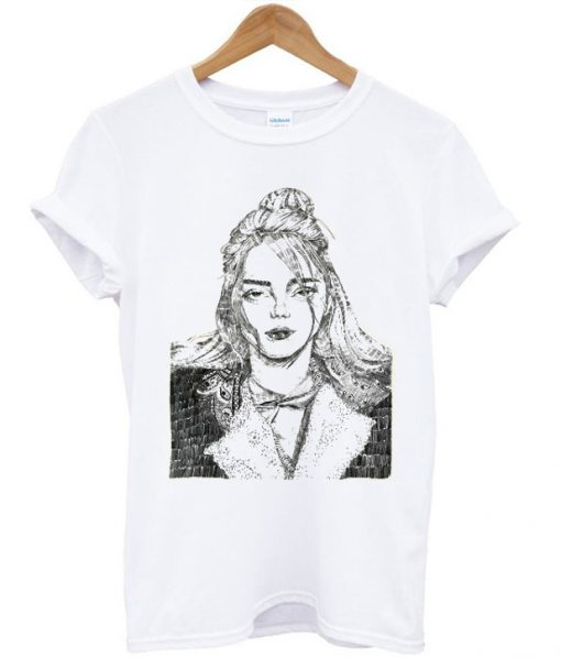 Billie Eilish Sketch T-shirt