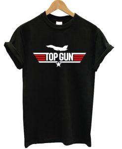 Top Gun Side Fighter Jet T-shirt
