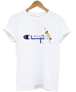 We Are The Champions Freddie Mercury T-shirt