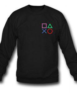 Playstation Button Sweatshirt