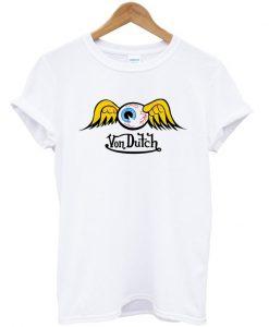 Von Dutch Flying Eyeball T-shirt
