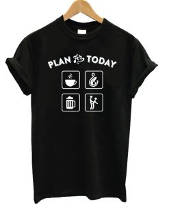 Plan For Today Icon T-shirt