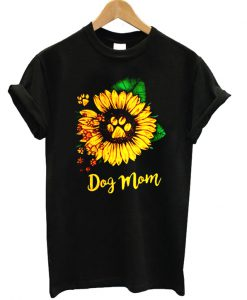 Dog Mom Sunflower T-shirt
