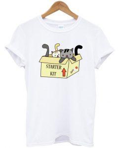 Grazy Cat Lady Starter Kit T-shirt