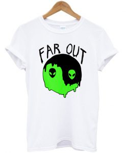 Alien Yin Yang Far Out T-shirt