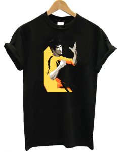 Bruce Lee Yellow T-shirt