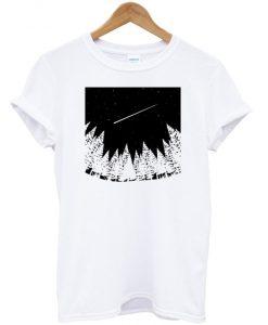 Meteor Shower Art T-shirt