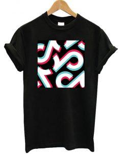 Tik Tok Pattern T-shirt